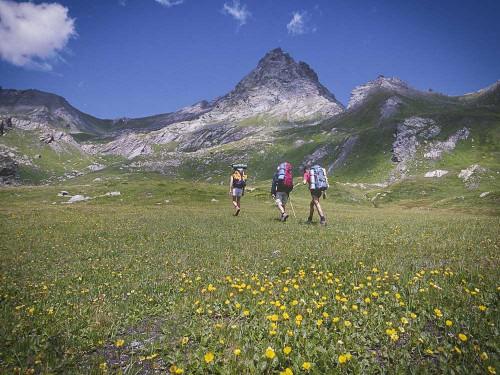 Randonnée pédestre dans le Queyras, Hautes Alpes